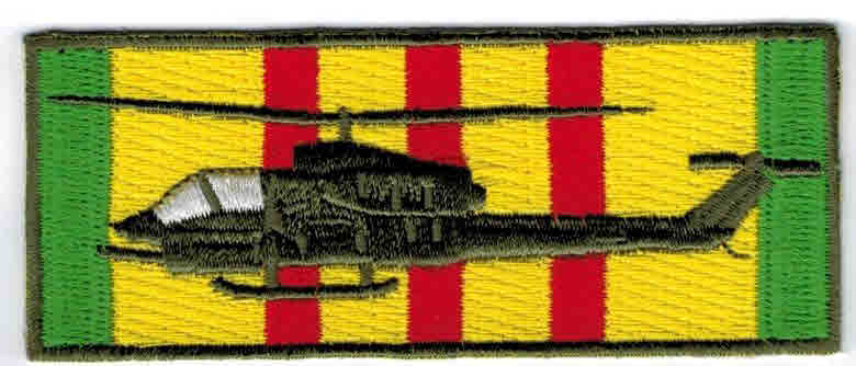 Vietnam service patch Cobra Hsp 6