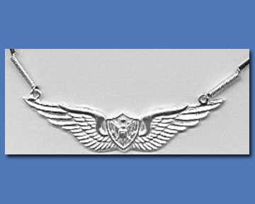 Crewmans Wings Necklace