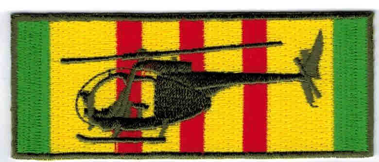Vietnam service patch Loach Hsp 3