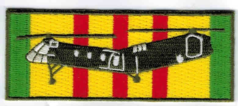 Vietnam Service Patch with Shawnee Hsp 7