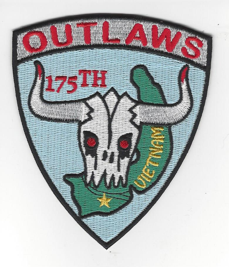 175 Outlaws 4 inch patch Pa 43